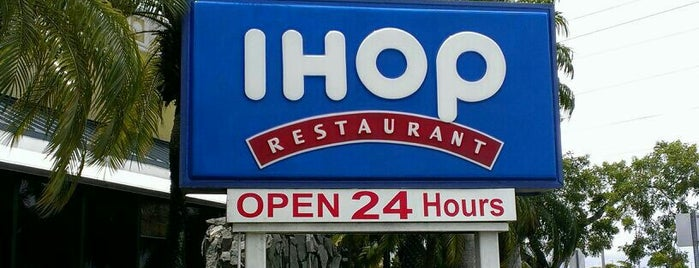 IHOP is one of Miami - 2016.