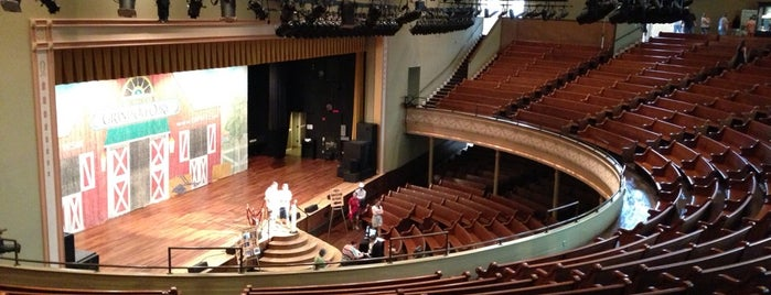 Ryman Auditorium is one of For Nashville Visitors.