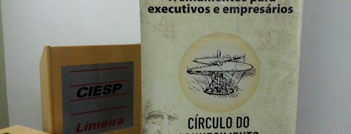 Ciesp Limeira is one of Lieux qui ont plu à Leandro.
