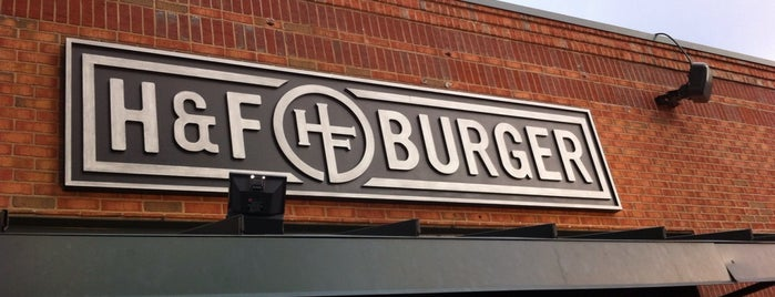 H&F Burger is one of Food - Atlanta Area.