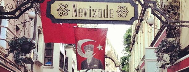 Nevizade is one of Beyoglu.