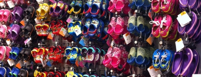 Crocs is one of Adam's Liked Places.