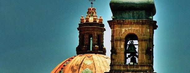 Santa Rosa de Viterbo is one of Queretaro San Miguel.
