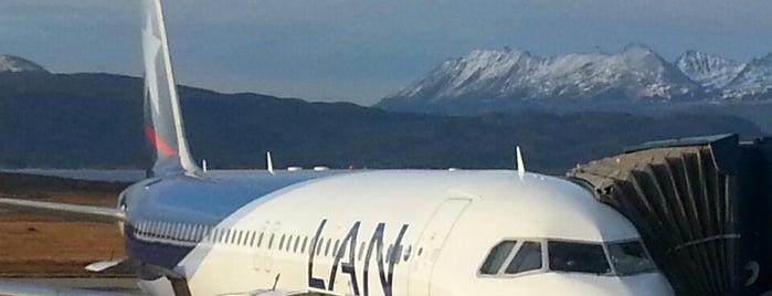 "Aeropuerto Internacional de Ushuaia ""Malvinas Argentinas"" (USH) is one of สนามบินนานาชาติ (1)."