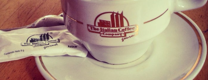 The Italian Coffee Company is one of Lugares favoritos de Griss.