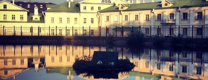 Белый пруд is one of Tempat yang Disukai Pavel.