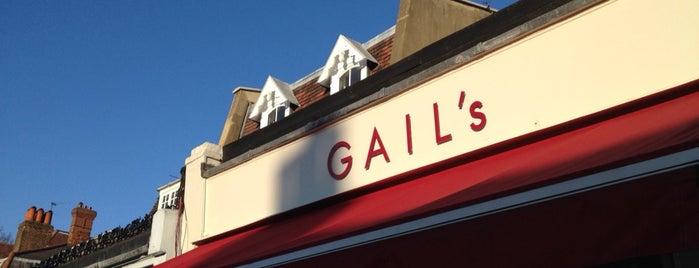 GAIL's Bakery is one of Tempat yang Disukai Leigh.