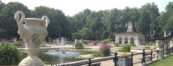 Italian Gardens is one of London.