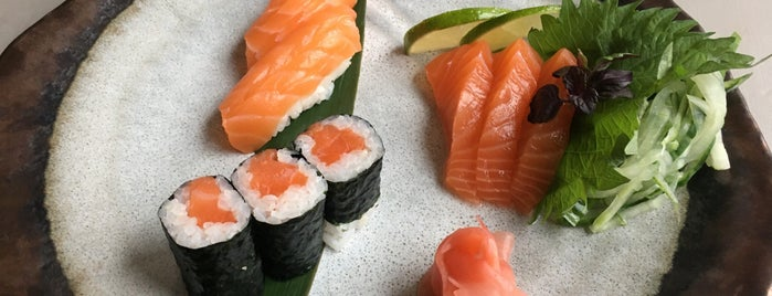 Hibagon sushi & grill is one of London.