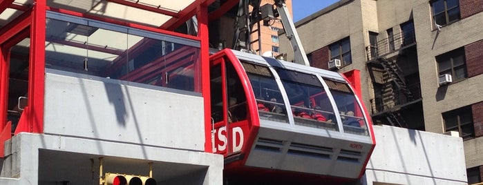 Roosevelt Island Tram (Manhattan Station) is one of Concierge Top 10 Sights.