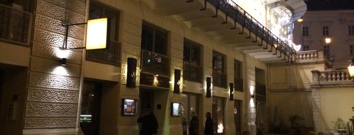 Aux Gazelles is one of Vienna's wheelchair accessible restaurants.