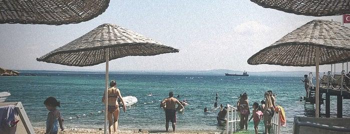 Neco Beach is one of Bozcaada.