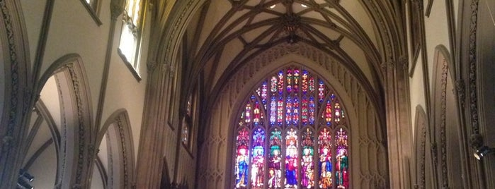 Trinity Church is one of NYC Food, Drinks, Culture & Entertainment.