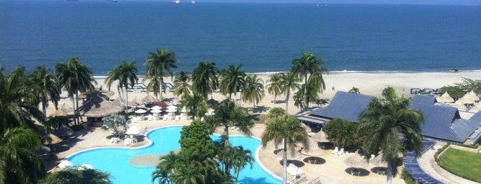 Hotel Zuana Beach Resort is one of Stevenson's Favorite World Hotels.