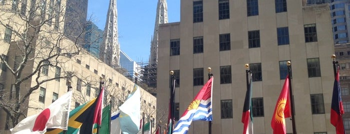 Rockefeller Center is one of NYC Food, Drinks, Culture & Entertainment.