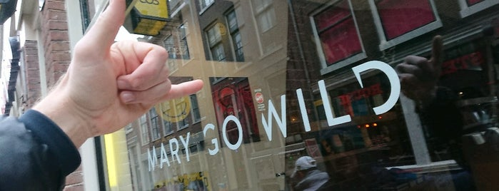 Mary Go Wild is one of Amsterdam.
