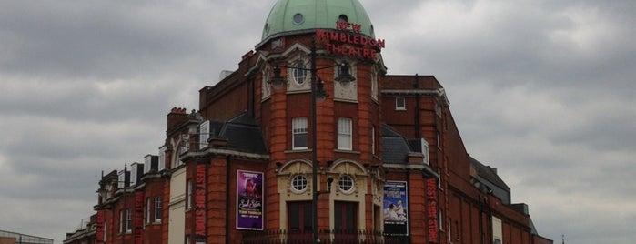 New Wimbledon Theatre is one of Locais curtidos por H.