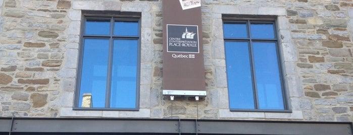Centre d'interpretation Place-Royale is one of สถานที่ที่ Cale ถูกใจ.