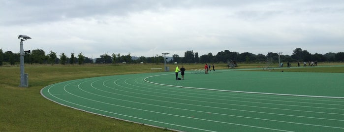 Wycombe District Athletics  Complex is one of Lugares favoritos de Carl.
