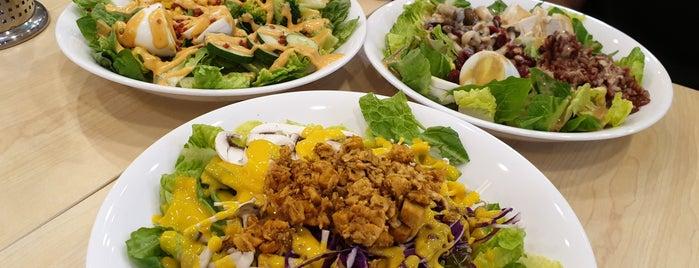 The Salad Box is one of Tempat yang Disukai Pushkar.