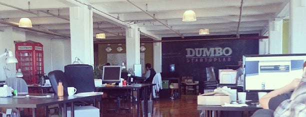 DUMBO Startup Lab is one of Silicon Alley, NYC.