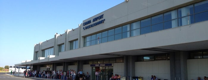 Chania International Airport (CHQ) Ioannis Daskalogiannis is one of Barryさんのお気に入りスポット.
