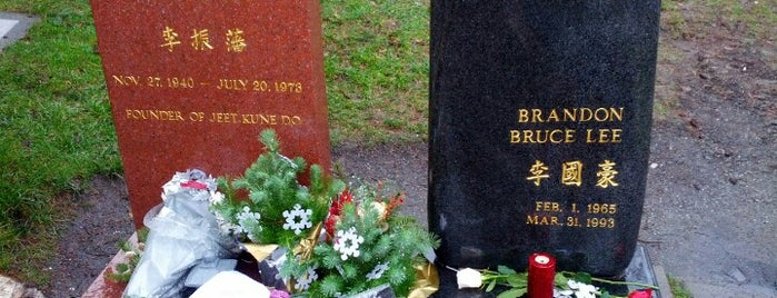 Bruce Lee's Grave is one of USA.