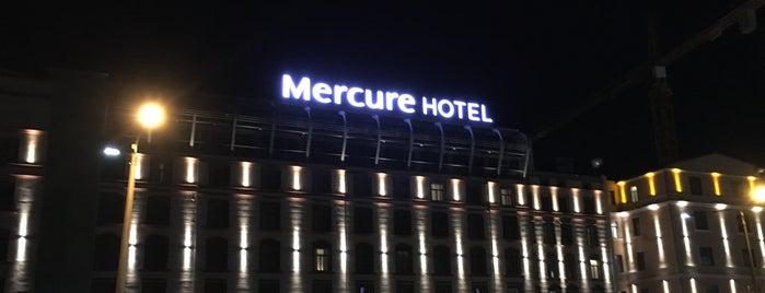 Mercure Riga Centre Hotel is one of Lugares favoritos de Valeria.