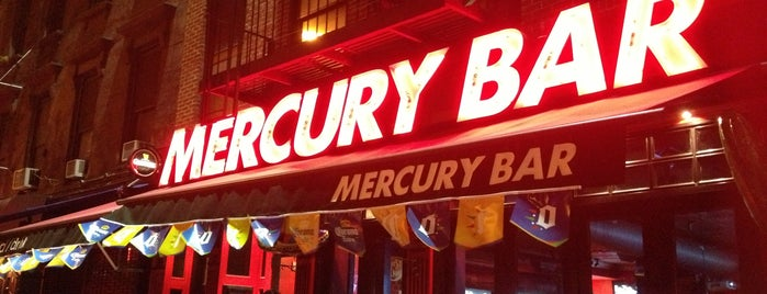Mercury Bar West is one of NYC Trivia Nights.