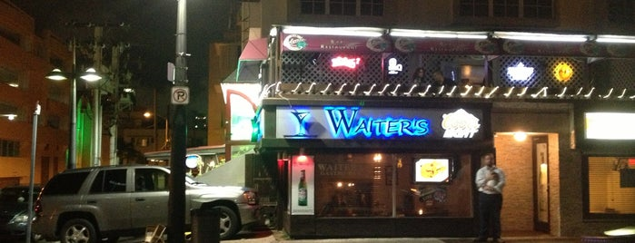Waiters bar & grill is one of PR.