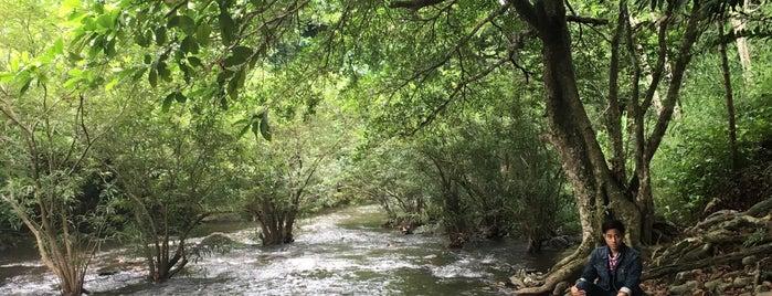น้ำตกวังตะไคร้ is one of สระบุรี, นครนายก, ปราจีนบุรี, สระแก้ว.