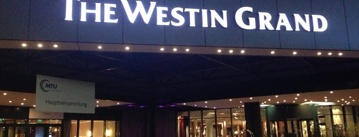 The Westin Grand München is one of Gust's World Spots.