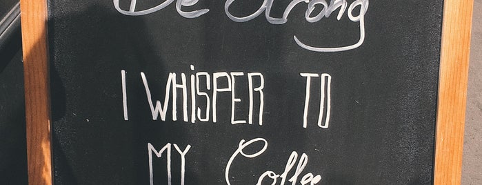 Blackburn Coffee is one of Orte, die Thomas gefallen.