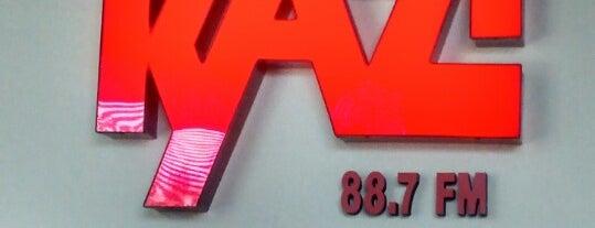 KAZI 88.7 FM is one of Lieux qui ont plu à Matt.