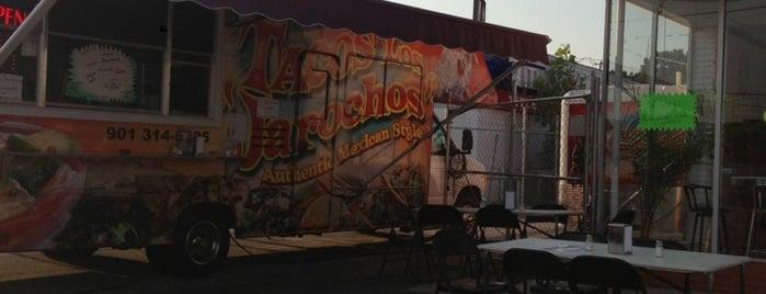 Tacos Los Jarochos is one of Tempat yang Disukai Zach.