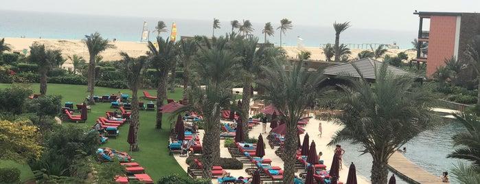 Hilton Cabo Verde Sal Resort is one of Lieux qui ont plu à Celia.