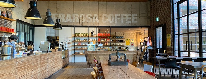 Terarosa Coffee is one of Coffee Excellence.