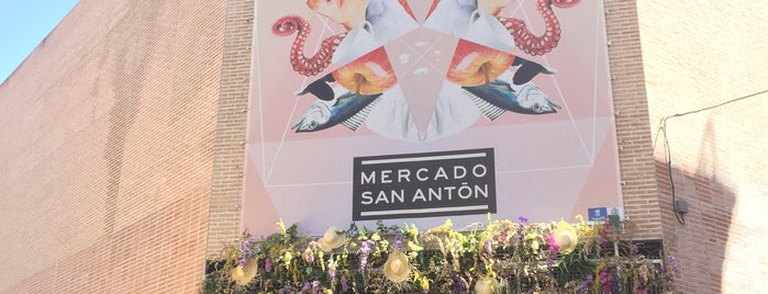 Mercado de San Antón is one of 🇪🇸 MAD city.