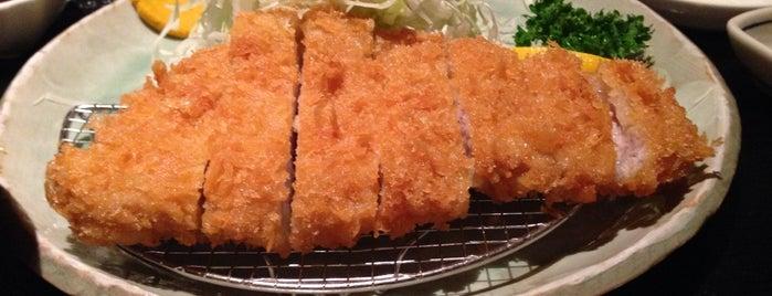 とんかつ風間 is one of 牛久.