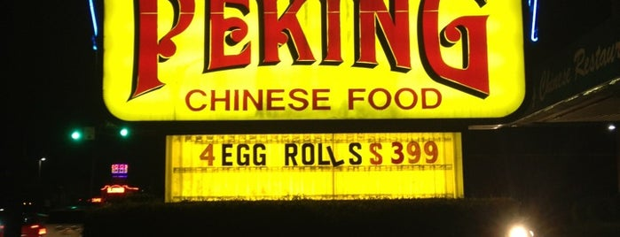 Peking Chinese Restaurant is one of Lugares favoritos de Jay.