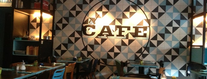 El Cafe is one of Amélie 님이 저장한 장소.