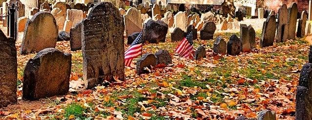 Granary Burying Ground is one of Boston: Fun + Recreation.
