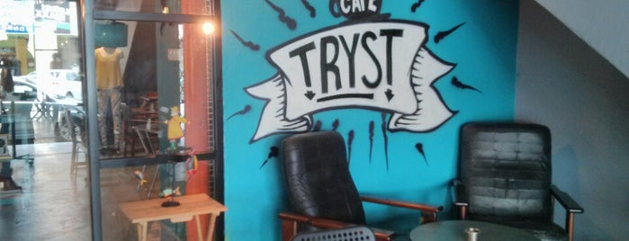 Tryst is one of Coffee, Tea or B.