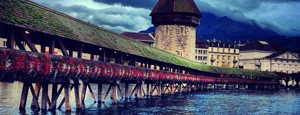 Luzern - Lucerne - Lucerna is one of Lugares donde estuve en el exterior.