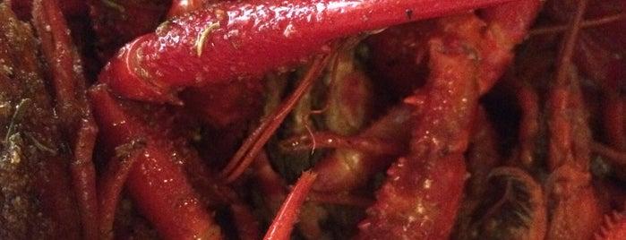 LA Crawfish is one of rodney: сохраненные места.