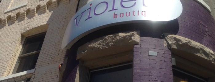 Violet Boutique is one of when in dc.