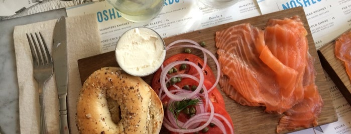 Russ & Daughters Café is one of NYC Faves.