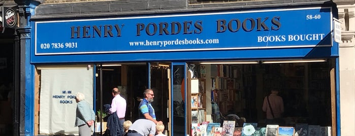 Henry Pordes Books is one of Bookstores - International.