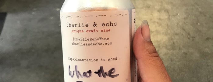 Charlie & Echo is one of SD Drinks.