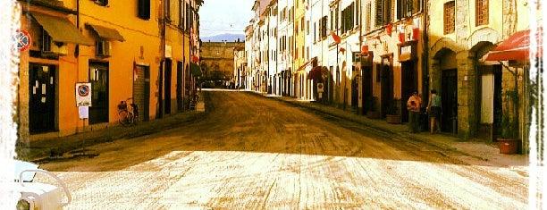 Porta Al Borgo is one of Pistoia.
